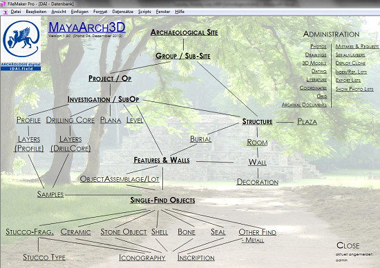 screenshot of iDAI.Field Database