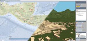 2D/3D Geobrowser